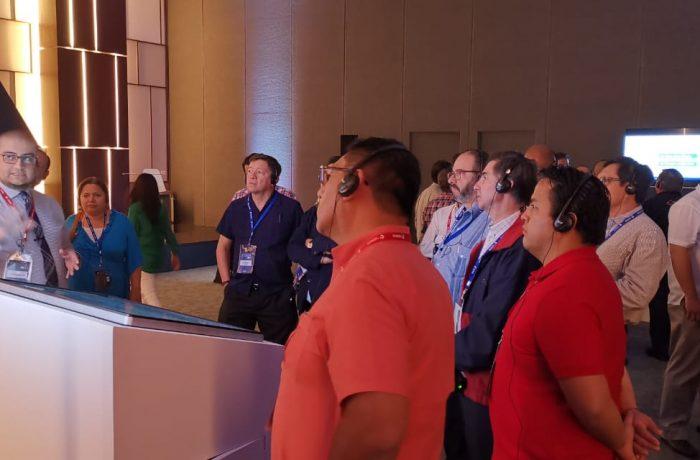 Distribución de audio con tres activaciones en el nuevo Centro de Convenciones de Mérida los días 29 y 30 de Marzo 2019